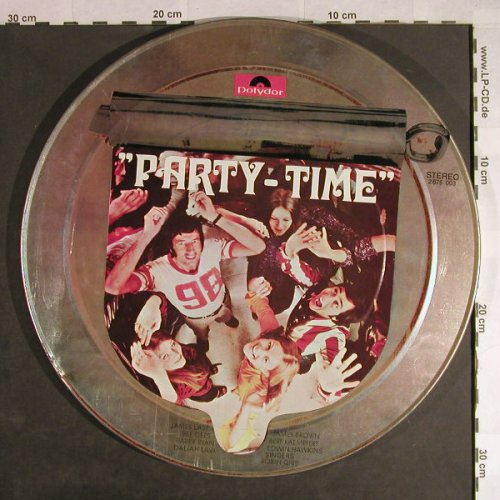 V.A.Party-Time: metal tin - NoVinyl , only tin, Polydor(2675 003), D, vg+,  - LPgx - H316 - 5,00 Euro
