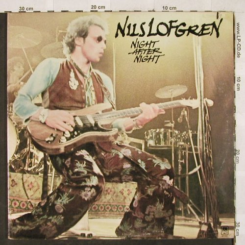 Lofgren,Nils: Night After Night, Foc, AM(SP-3707), US, Co, 1977 - 2LP - H3228 - 4,00 Euro