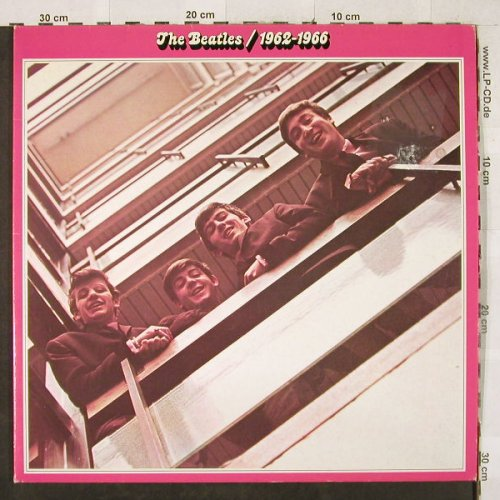 Beatles: 1962-1966, Foc, m-/vg+, Apple(172-05 307/08), D,  - 2LP - H3287 - 7,50 Euro
