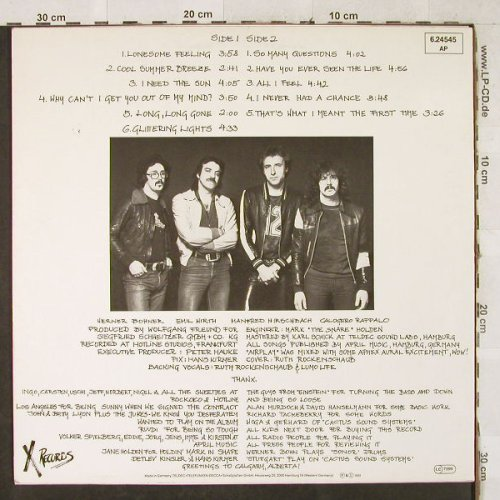 Stuttgart: Airplay, X Records(6.24545 AP), D, 1981 - LP - H3487 - 5,00 Euro
