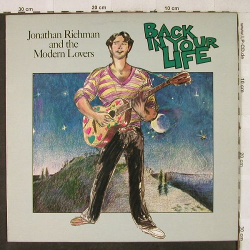 Richman,Jonathan & Modern Lovers: Back In Your Life, Beserkley(6.23743 AO), D, 1979 - LP - H3645 - 6,50 Euro
