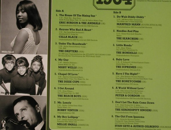 V.A.30 Years Popmusic: 1964-Eric Burdon...Stan Getz&Astrud, S*R(46 214 3), D,  - LP - H3750 - 4,00 Euro