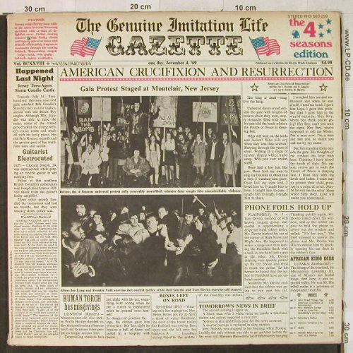 Four Seasons: Genuine Imitation Life, Foc²,m-/vg+, Philips(PHS 600-290), US,  - LP - H3788 - 12,50 Euro