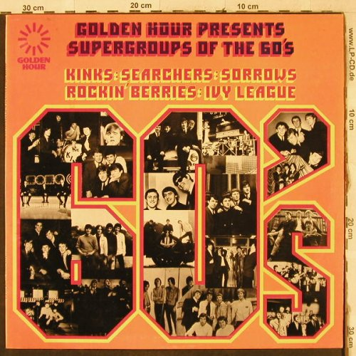 V.A.Golden Hour: Supergroups of the 60's, Golden Hour(GH 525), UK,  - LP - H3827 - 5,00 Euro