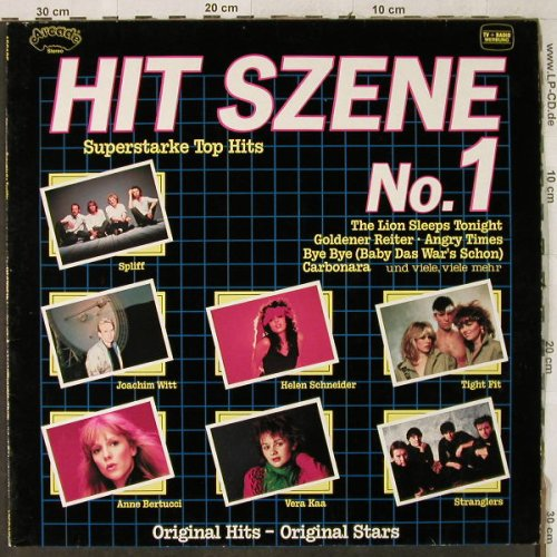 V.A.Hit Szene: No.1 - Tight Fit...Eruption, Arcade(ADE G 149), D, 1982 - LP - H3903 - 4,00 Euro