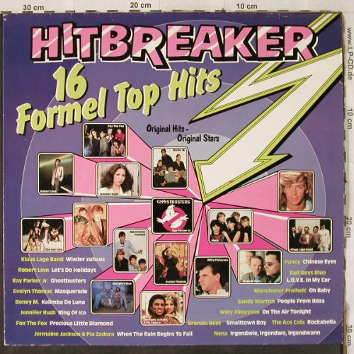 V.A.Hit Breaker: 16 Formel Top Hits, S*R(41 389 8), D, 1985 - LP - H3907 - 4,00 Euro