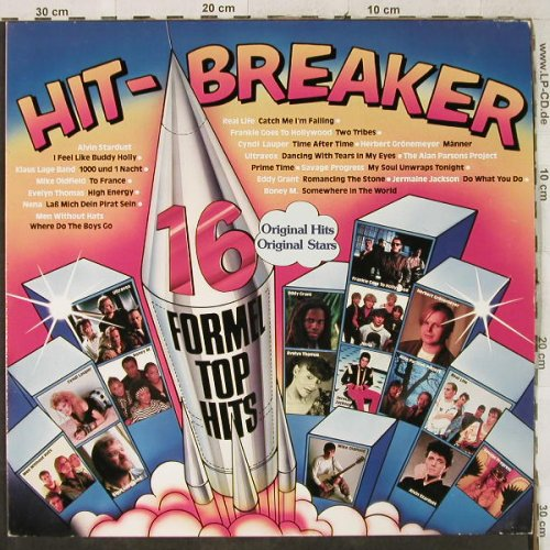 V.A.Hit Breaker: 16 Formel Top Hits, S*R(40 841 9), D, 1984 - LP - H3908 - 4,00 Euro