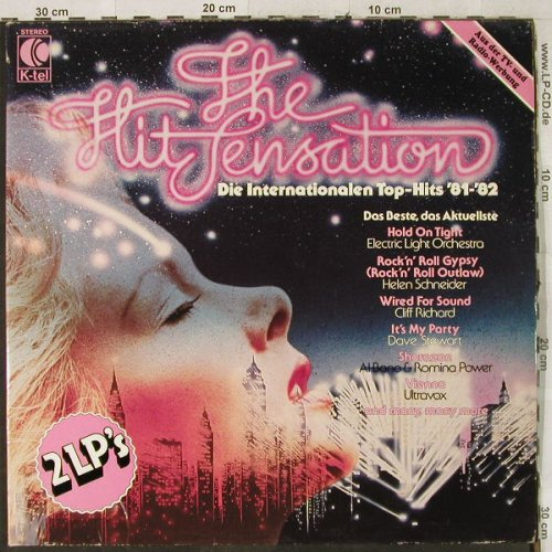 V.A.The Hit Sensation: Intern.Top-Hits '81-'82, Foc, K-tel(TG 1359), D, 1981 - 2LP - H3913 - 5,00 Euro