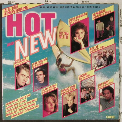 V.A.Hot and New: Laura Branigan..Twisted Sister, WEA(240 467-1 XJ), D, 1984 - LP - H3934 - 4,00 Euro
