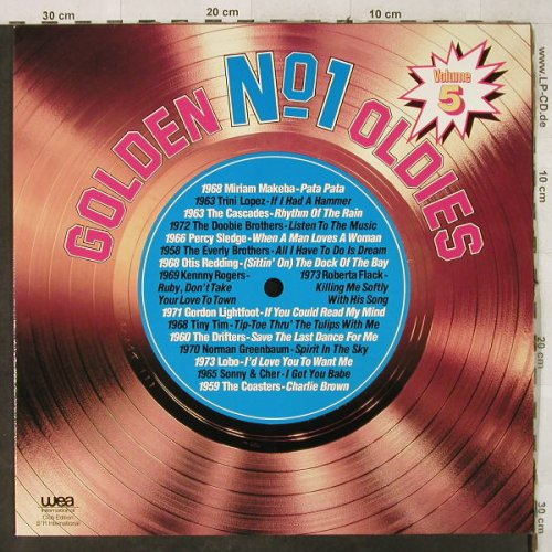 V.A.Golden No.1 Oldies: Vol.5-Lobo...Gordon Lightfood, WEA(91 631 2), D,Club Ed.,  - LP - H3968 - 4,00 Euro