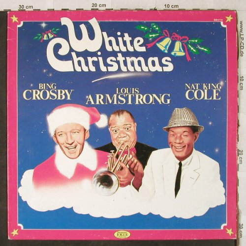 V.A.White Christmas with: BingCrosby,Armstrong,Nat King Cole, Joker(SM 4116), I, Ri, 1985 - LP - H3974 - 4,00 Euro