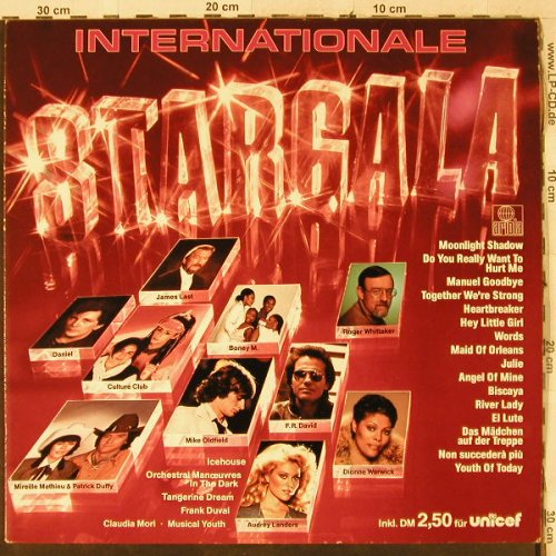 V.A.Internationale Stargala: Mike Oldfield...James Last, Ariola(205 777-559), D, 1983 - LP - H3987 - 4,00 Euro