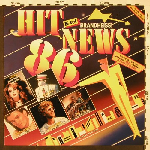 V.A.Hit News'86: Elton John...Two of Us, K-tel(TG 1585), D, 1985 - LP - H4005 - 4,00 Euro