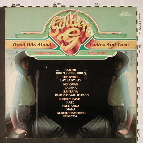 V.A.Golden G: Great Hits About Ladies and Love, Memory(296 999-245), D, 1981 - LP - H4024 - 4,00 Euro