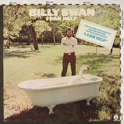 Swan,Billy: I Can Help, Monument(80615), NL, 1974 - LP - H4027 - 4,00 Euro