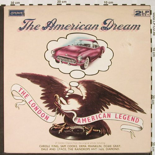 V.A.The American Dream,The London: American Legend, Foc, vg+/vg+, London(DREAM-R1/2), UK, Mono,  - 2LP - H4028 - 6,00 Euro