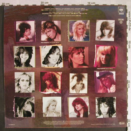 Bangles: Different Light, CBS(26659), NL, 1985 - LP - H402 - 5,00 Euro
