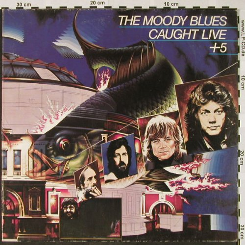 Moody Blues: Caught Live +5, Ri, Nova(6.28412 DP), D, 1977 - 2LP - H4043 - 6,50 Euro