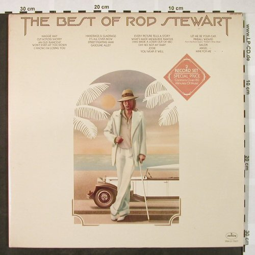 Stewart,Rod: The Best Of, Foc, Mercury(SRM-2-7507), US,  - 2LP - H4052 - 7,50 Euro