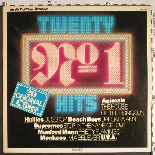 V.A.Twenty No.1 Hits: Monkee...David McWilliams, EMI(060-32 075), D, co,  - LP - H405 - 4,00 Euro