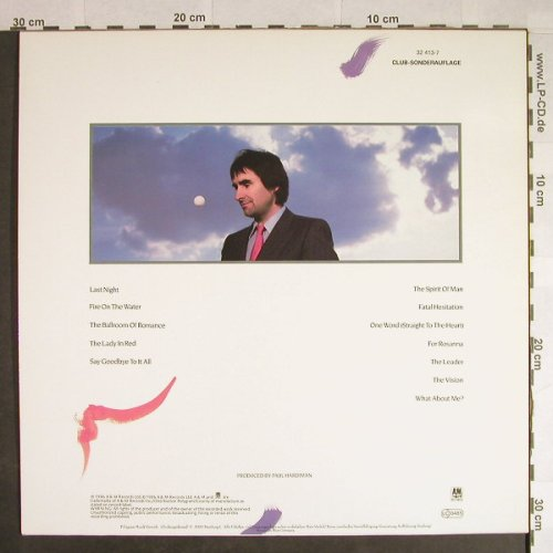 De Burgh,Chris: Into The Light, Club-Sonderaufl., AM(32 413-7), D, 1986 - LP - H411 - 4,00 Euro