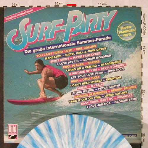 V.A.Surf-Party: P.Collins..John Holt,multiCol.vinyl, Teldec(6.25577 AP), D,m-/vg+, 1983 - LP - H4269 - 4,00 Euro