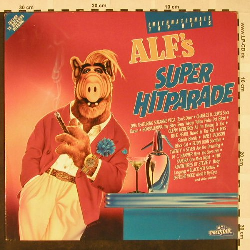 V.A.Alf's Super Hitparade: Tom's Diner...Beats International, Polystar(845 285-1), D, 1990 - 2LP - H4278 - 6,00 Euro
