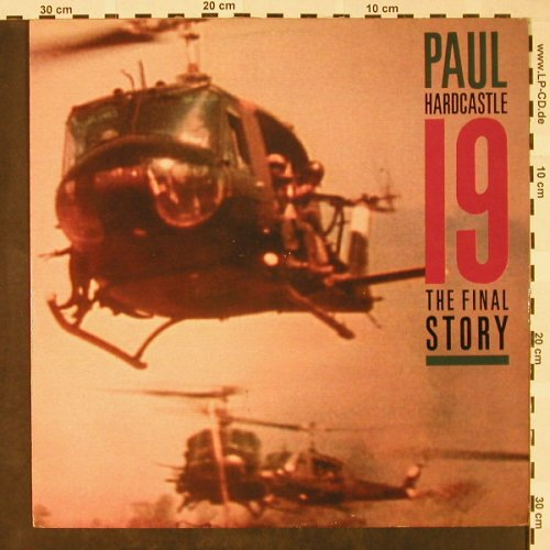Hardcastle,Paul: 19-The Final Story, Chrysalis(CHS 32 2860), UK, 1985 - 12inch - H4308 - 3,00 Euro
