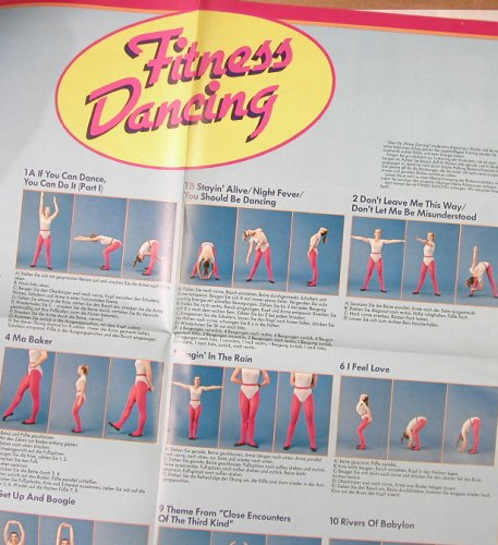 V.A.Fitness Dancing: Tanz dich Fit im Disco Sound,Foc, Arcade(ADEG 148), D,+Poster, 1982 - LP - H4328 - 5,50 Euro