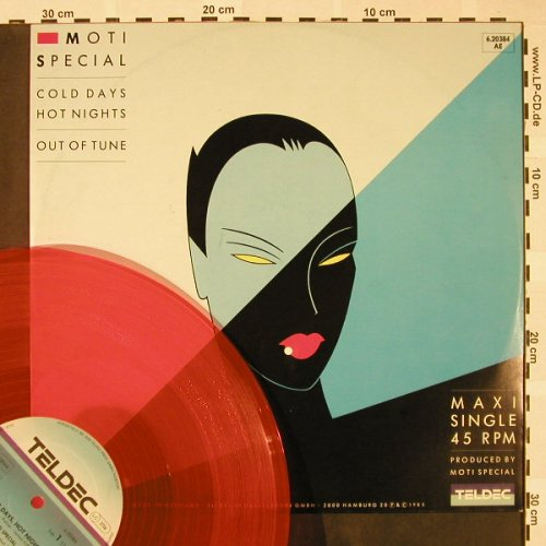 Moti Special: Cold Days Hot Nights+1, OrangeVinyl, Teldec(6.20384 AE), D, 1985 - 12inch - H4357 - 3,00 Euro