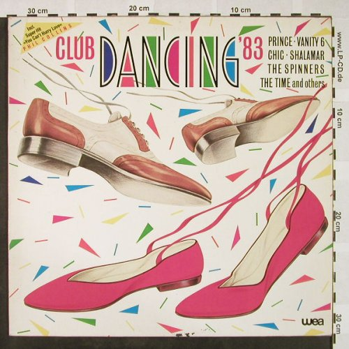 V.A.Club Dancing'83: Phil Collins...Chic, WEA(24.0075-1), D, 1983 - LP - H4385 - 4,00 Euro
