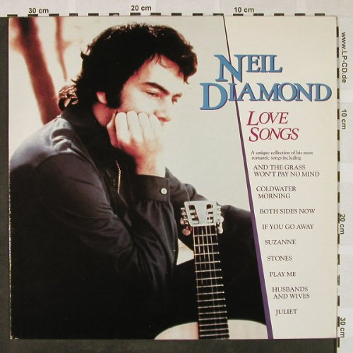 Diamond,Neil: Love Songs, MCA(250 437-1), D, 1981 - LP - H4468 - 6,00 Euro