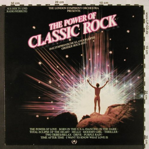 London Symphonic Orchestra: The Power Of Classic Rock, Portrait(PRT 24063), NL, 1985 - LP - H4619 - 4,00 Euro