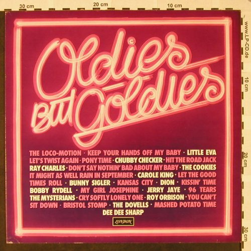 V.A.Oldies but Goldies: Chubby Checker...Jerry Jaye, London(6.23409 AQ), D, 1978 - LP - H4621 - 5,00 Euro
