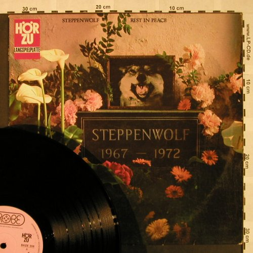 Steppenwolf: Rest In Peace, vg+/m-, Probe HörZu(SHZE 356), D, 1972 - LP - H4675 - 12,50 Euro