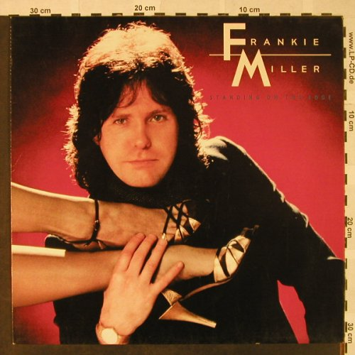 Miller,Frankie: Standing On The Edge, Capitol(064-400 098), D, 1982 - LP - H4686 - 5,00 Euro