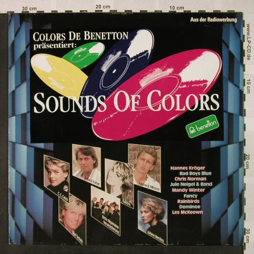 V.A.Colors de Benetton: Sounds of Colors, Ariola(209 447), D, 1988 - LP - H4698 - 6,00 Euro