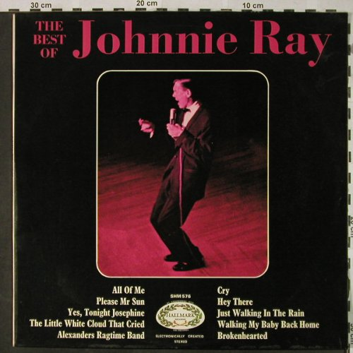 RayJjohnnie: The Best Of,(ectronically Stereo)Ri, Hallmark(SHM 576), UK,m-/vg+,,  - LP - H4771 - 5,50 Euro
