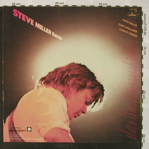 Miller Band,Steve: Fly Like An Eagle, Mercury(6303 925), D, 1976 - LP - H4981 - 5,00 Euro