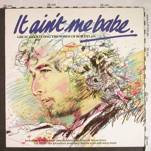 V.A.It Ain't Be Me Babe: Great Artists sing t.songs o.Dylan, Polystar(BOBTV1), D, 1980 - LP - H498 - 7,50 Euro