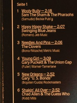 V.A.Kings Of Pop Music: Sam the Sham...Mary Hopkins, Marifon(47 991 XAT), D, 1981 - LP - H501 - 4,00 Euro