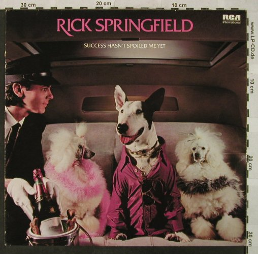 Springfield,Rick: Success Hasn`t Spoiled Me Yet, RCA(NL 84767), D,DogCover, 1982 - LP - H5066 - 5,50 Euro