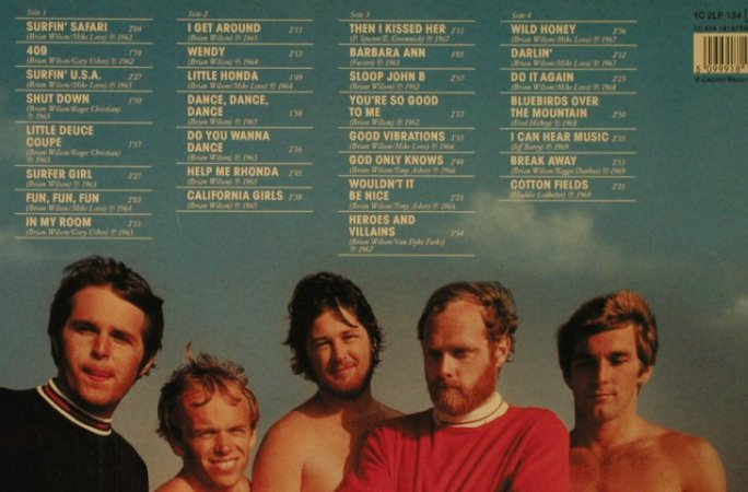 Beach Boys: Gold Collection, Foc, Capitol(1816753), D, Ri,  - 2LP - H5079 - 7,50 Euro