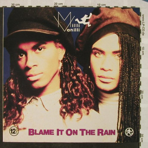 Milli Vanilli: Blame It On The Rain*2+1, Hansa(612 364), D, 1989 - 12inch - H5099 - 4,00 Euro