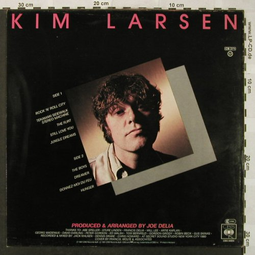 Larsen,Kim: Jungle Dreams, CBS(CBS 84854), NL, 1981 - LP - H5141 - 5,50 Euro
