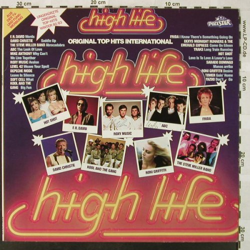 V.A.High Life: Original Top Hits ,Winter 82/83, Polystar(2475 569), D, 1982 - LP - H5144 - 4,00 Euro