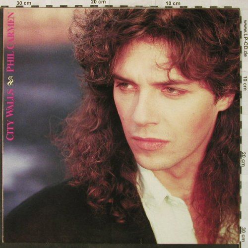 Carmen,Phil: City Walls, Metron.(831 558-1), D, 1987 - LP - H5204 - 6,00 Euro