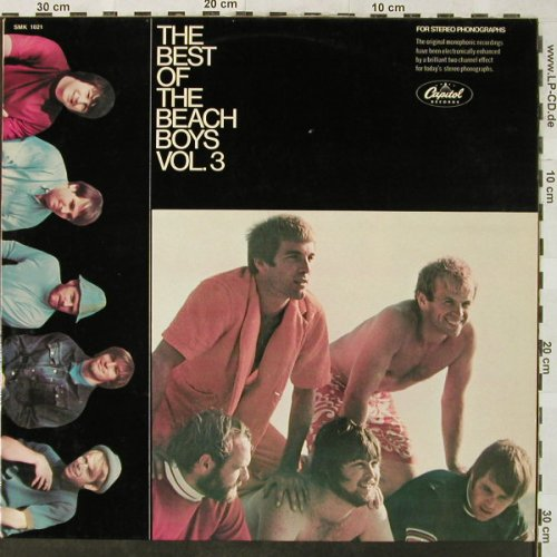 Beach Boys: The Best Of Vol.3, Capitol(SMK 1021), D,  - LP - H5209 - 6,00 Euro