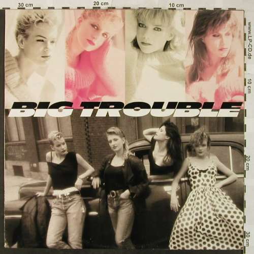 Big Trouble: When the Love is Good / Last Kiss, Epic(460 489 1), UK, 1988 - 12inch - H5227 - 3,00 Euro