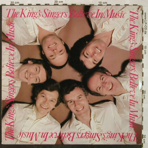 King's Singer's: Believe In Music, Aves(INT 161.545), D, 1981 - LP - H5256 - 7,50 Euro